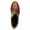 Leather Ankle Boots with Heel bata, brown , 694-4641 - 26