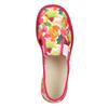 Children's patterned slip-ons bata, pink , 379-5125 - 15
