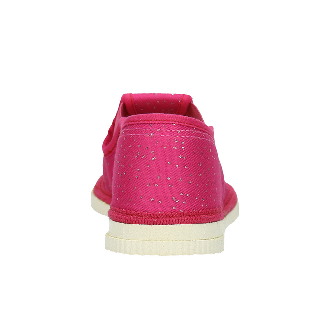 Children's pink slippers bata, pink , 279-5121 - 16