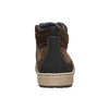Men's ankle sneakers bata, brown , 846-4651 - 17