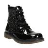 Children's Ankle Boots with Rhinestones mini-b, black , 321-6611 - 13