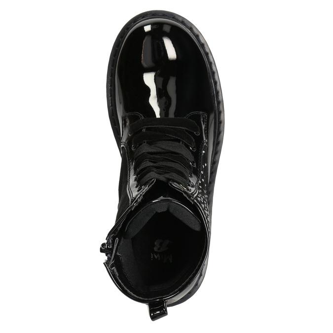 Children's Ankle Boots with Rhinestones mini-b, black , 321-6611 - 19