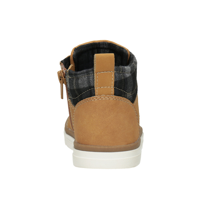 Children's High Top Shoes mini-b, brown , 291-8172 - 16