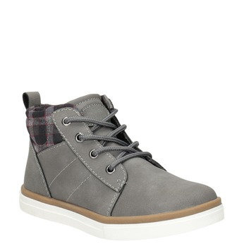 Children's High Top Shoes mini-b, gray , 291-2172 - 13