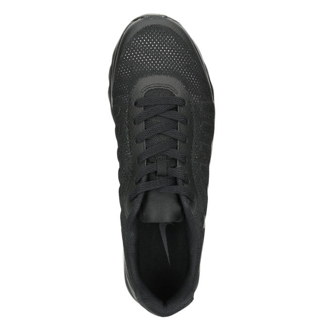 Men's Black Sneakers nike, black , 809-6184 - 15