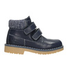 Children's leather ankle boots weinbrenner-junior, blue , 216-9200 - 26