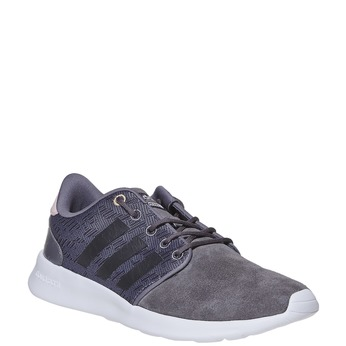 Ladies' leather sneakers adidas, gray , 503-2111 - 13