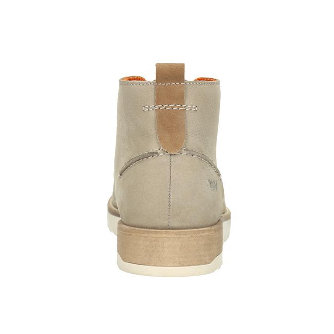 Men's Ankle Boots weinbrenner, beige , 846-8701 - 17
