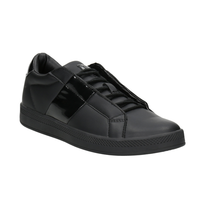 Ladies' Black Sneakers atletico, black , 501-6171 - 13