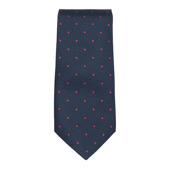 Tie, Handkerchief, and Cufflinks Set bata, blue , 999-9298 - 26