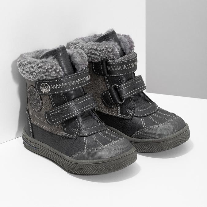Children's Winter Boots bubblegummer, gray , 191-4619 - 26