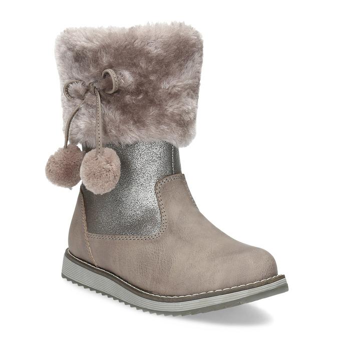 Children's Winter Boots bubblegummer, beige , 291-8624 - 13
