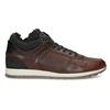 Leather Winter Sneakers bata, brown , 846-4646 - 19