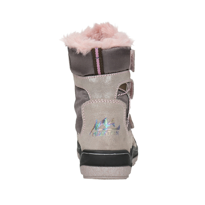 Pink Girls' Winter Boots mini-b, 299-5613 - 17