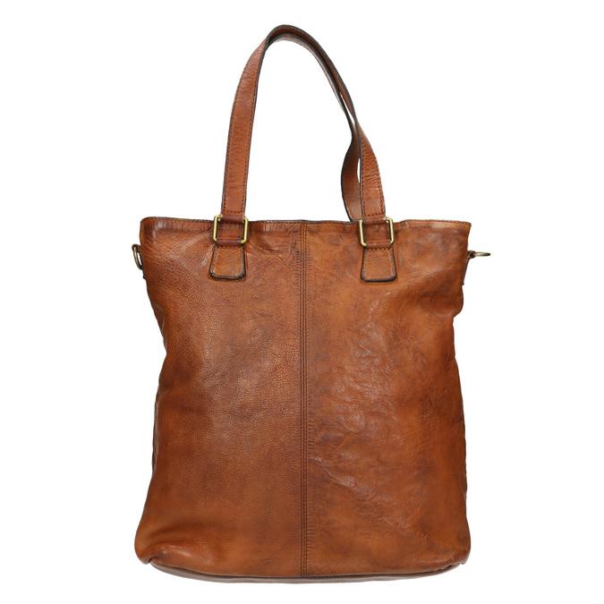 Ladies' Leather Handbag, brown , 964-3245 - 26