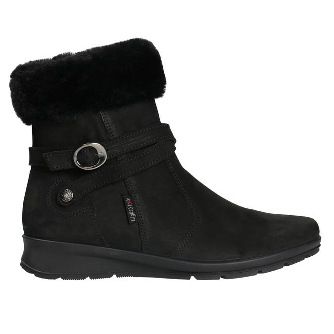 Ladies' Winter Boots with Fleece comfit, black , 696-6623 - 15