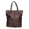 Brown Leather Handbag bata, brown , 964-4245 - 16