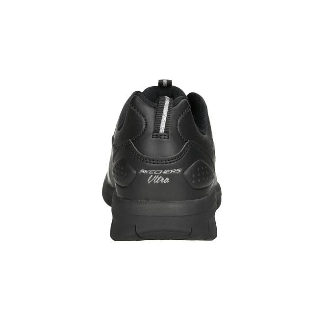 Ladies' black sneakers skechers, black , 501-6317 - 16