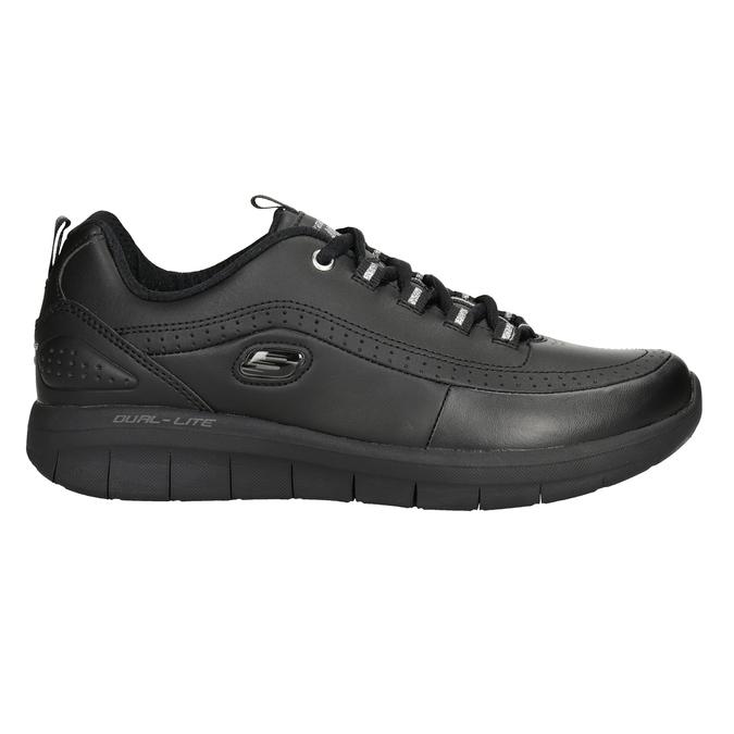 Ladies' black sneakers skechers, black , 501-6317 - 26