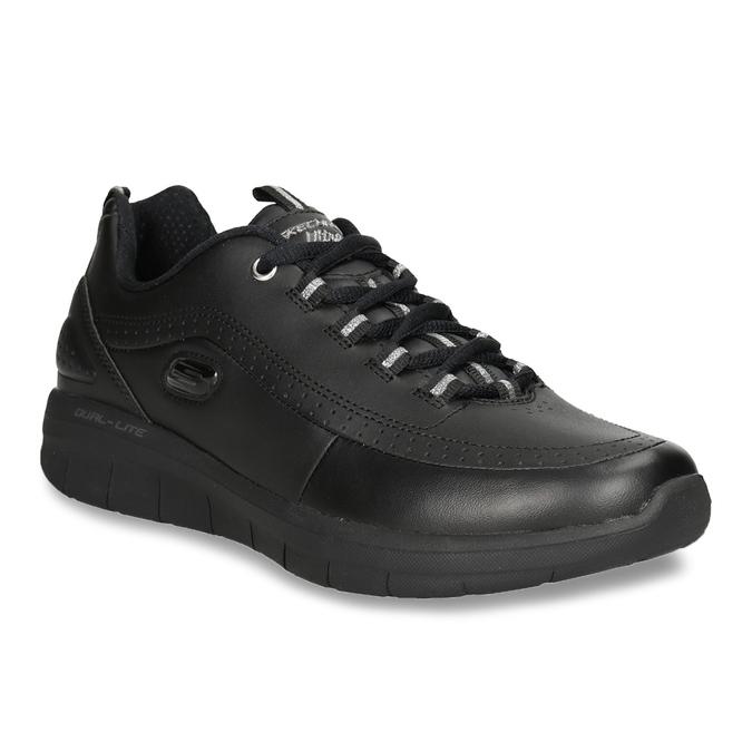 Ladies' black sneakers skechers, black , 501-6317 - 13