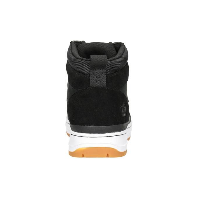 Men's leather ankle boots k1x, black , 806-6552 - 16