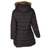 Ladies' Winter Jacket with Fur bata, brown , 979-4134 - 26