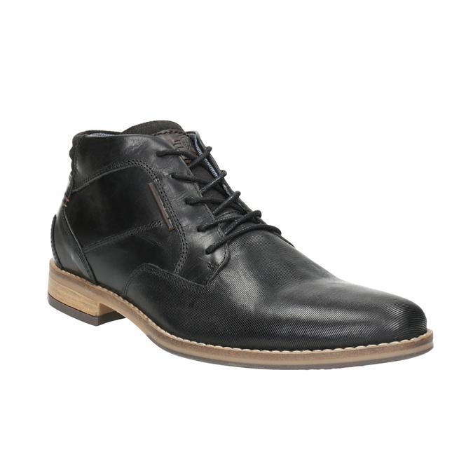 Men's ankle boots bata, black , 826-6926 - 13
