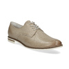 Ladies' leather shoes bata, beige , 526-8650 - 13