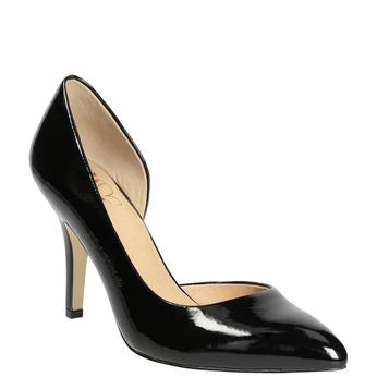 Black patent pumps insolia, black , 721-6615 - 13