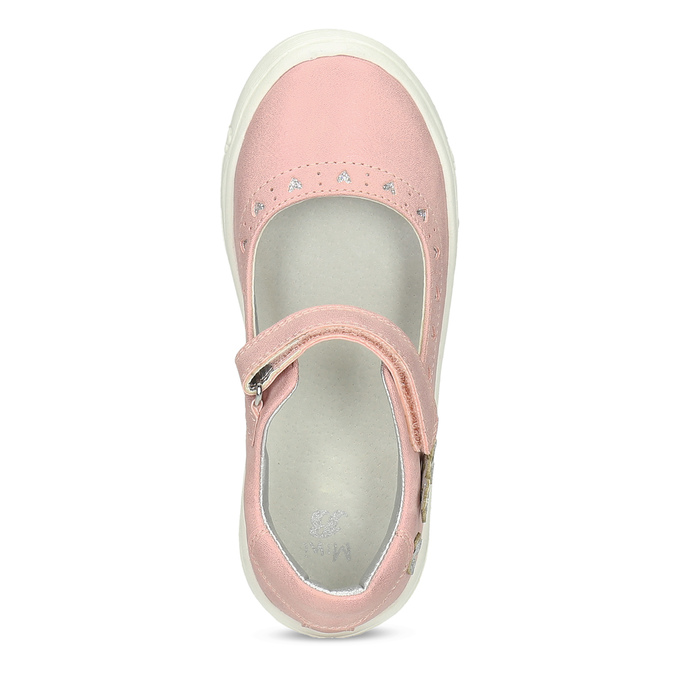 Girls' pink ballerinas mini-b, pink , 221-5216 - 17