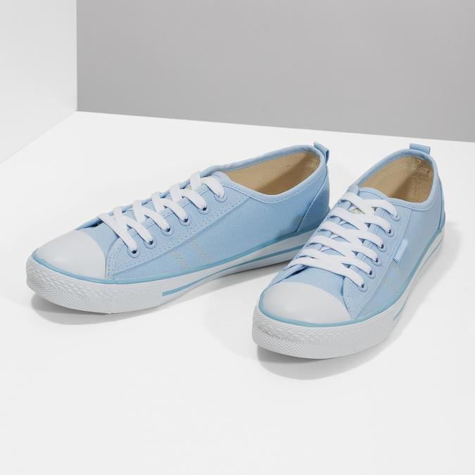 Ladies' blue sneakers north-star, blue , 589-9443 - 16