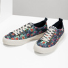 Ladies' sneakers with floral pattern north-star, black , 589-6446 - 16