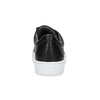 Black leather sneakers vagabond, black , 624-6014 - 15